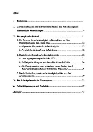 Zur Einf  hrung privater Arbeitslosenversicherungen in Deutschland PDF