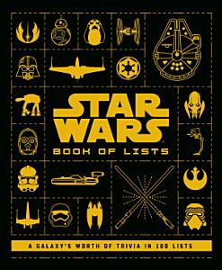 Star Wars  Book of Lists Book