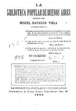 La Biblioteca popular de Buenos Aires PDF