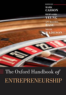 The Oxford Handbook of Entrepreneurship