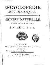 Histoire naturelle: insectes, Volume4