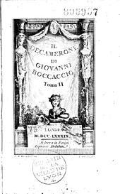 Il decamerone di Giovanni Boccaccio tomo I [-tomo III.]