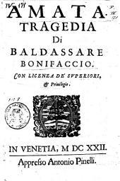 Amata: tragedia di Baldassare Bonifaccio
