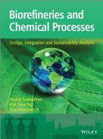 Biorefineries and Chemical Processes PDF