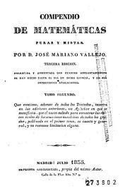 Compendio de matemáticas puras y mistas