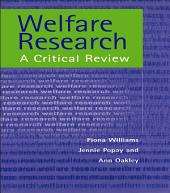Welfare Research