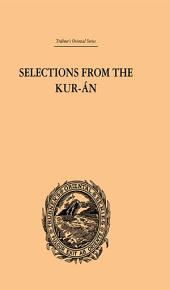 Selections from the Kuran
