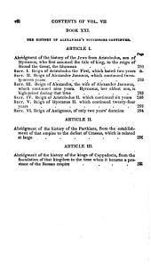 The Ancient History of the Egyptians, Carthaginians, Assyrians, Medes and Persians, Grecians and Macedonians: Volume 7