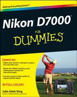 Nikon D7000 For Dummies PDF