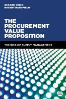 The Procurement Value Proposition PDF