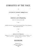 Gymnastics of the Voice PDF