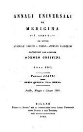 Annali universali di medicina: Volume 172