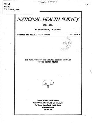 The Magnitude of the Chronic Disease Problem in the United States PDF