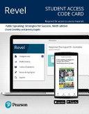Public Speaking Revel Access Code PDF