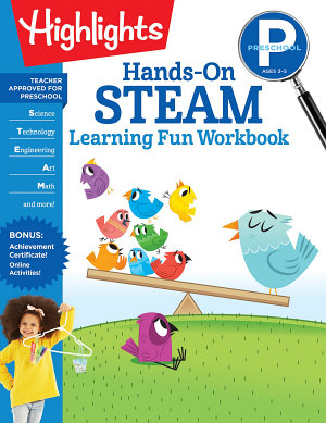 Preschool Hands On STEAM Learning Fun Workbook PDF