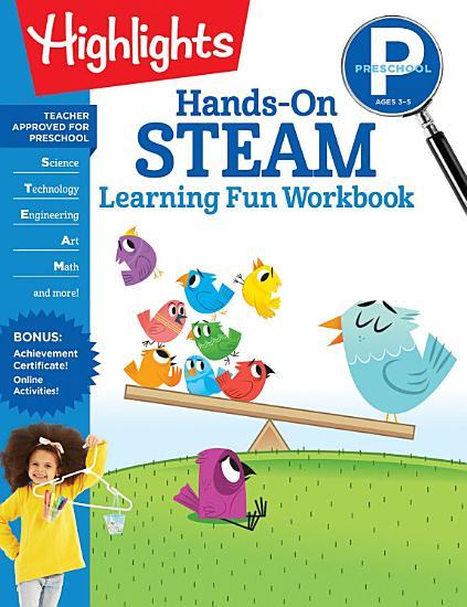 Preschool Hands On STEAM Learning Fun Workbook PDF