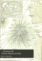 ... Eruzione del vulcano Mayón nel 1897