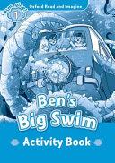OXFORD READ AND IMAGINE 1 BENS BIG SWIM ACTIVITY BOOK