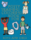 Potty Training Coloring Book For Boys And Girls Book PDF