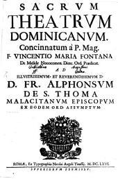 Sacrum theatrum Dominicanum
