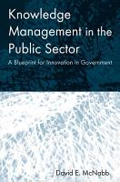 Knowledge Management in the Public Sector PDF