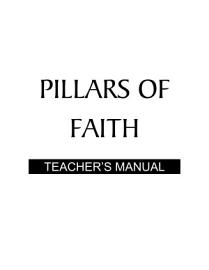 Pillars Of Faith   Teacher S Manual PDF