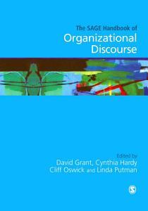 The SAGE Handbook of Organizational Discourse PDF