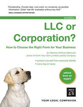 LLC Or Corporation  PDF