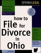 How to File for Divorce in Ohio: Edition 3