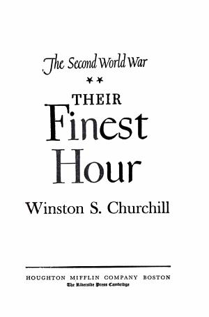 The Second World War Their Finest Hour PDF