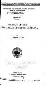 Geology of the Coastal Plain of South Carolina