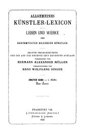 Allgemeines Künstler-Lexicon: Band 2