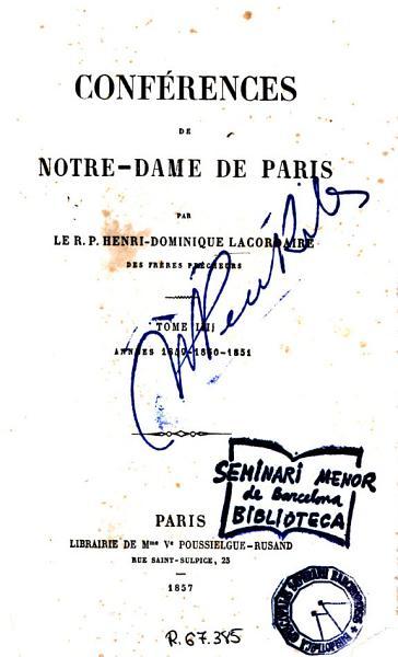 Conf  rences de Notre Dame de Paris  4