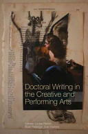 Doctoral Writing in the Creative and Performing Arts PDF