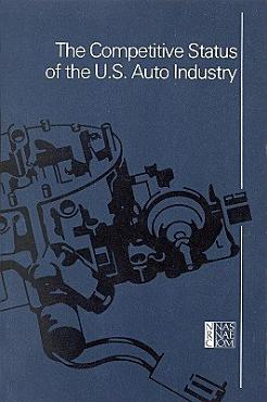 The Competitive Status of the U S  Auto Industry PDF