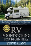 Rv Boondocking for Beginners PDF