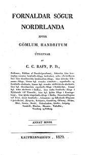 Fornaldar Sögur Nordelanda eptir gömlum Handritum: Volume 2