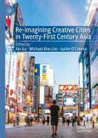 Re Imagining Creative Cities in Twenty First Century Asia PDF
