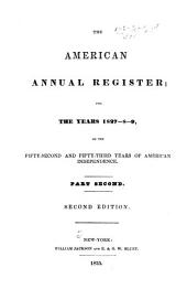 The American Annual Register for the Years ..., Or, the ... Year of American Independence: Part 2