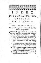Apparatus ad Bibliothecam maximam veterum Patrum et antiquorum scriptorum ecclesiasticorum Lugduni editam, in quo quidquid ad eorum scripta et doctrinam variosque scribendi et docendi modos pertinet... illustratur... opera et studio Domini Nicolai Le Nourry,...