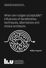 När är nudges acceptabla?