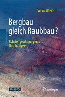 Bergbau gleich Raubbau  PDF
