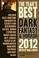 The Year's Best Dark Fantasy and Horror