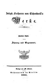 Werke: Ahnung und Gegenwart, Band 2