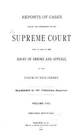 New Jersey Law Reports: Volume 37