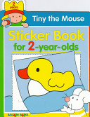 Tiny the Mouse Sticker Book for 2 Year Olds