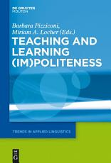 Teaching and Learning  Im Politeness PDF