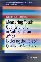 Measuring Youth Quality of Life in Sub Saharan Africa PDF