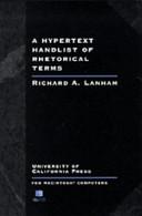 A Hypertext Handlist of Rhetorical Terms PDF