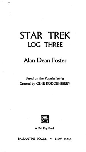 Star Trek Log Three